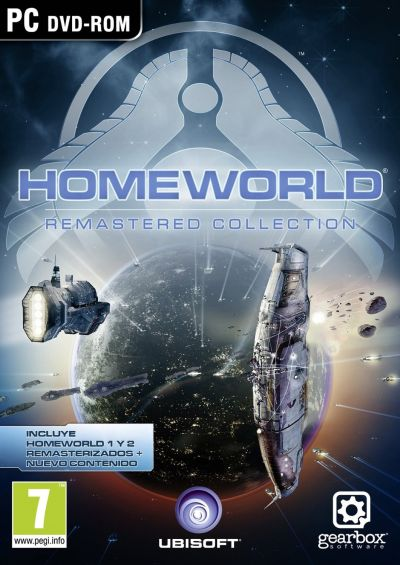 Ubisoft Homeworld Remastered Collection EMEA/Spanish Cover - Front